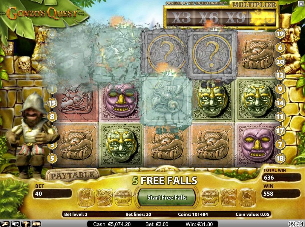 Gonzos quest online, free