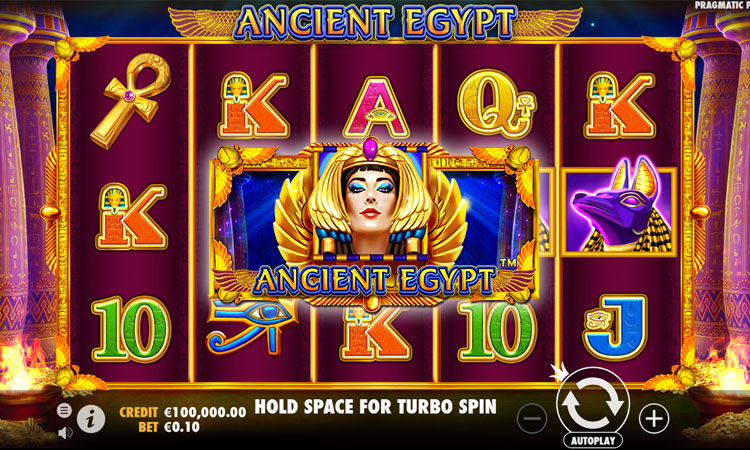 Preview into Ancient Egypt slot game