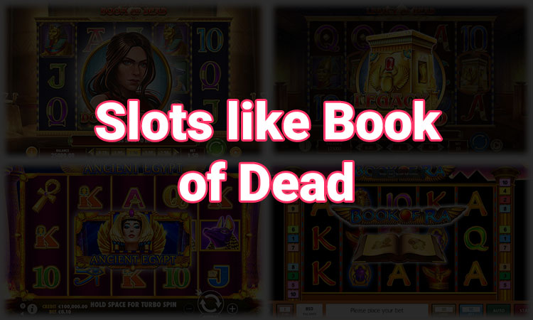 Featured Image of Slots similar to book of dead article