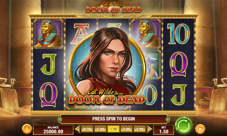 Preview into Cat Wilde Doom of Dead slot game